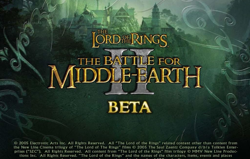 The Lord of the Rings: The Battle for Middle Earth 2 bèta