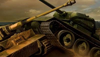 WWII Battle Tanks T34 vs Tiger