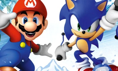 Mario en Sonic op de Olympische Winterspelen DS