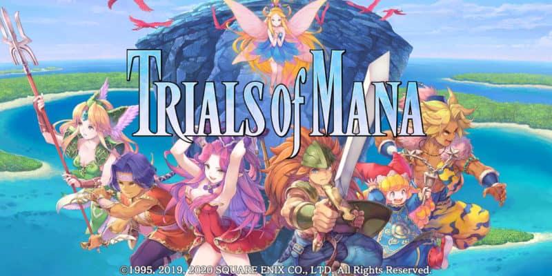 Vertrek naar een wereld vol magie en avontuur – Trials of Mana is nu beschikbaar