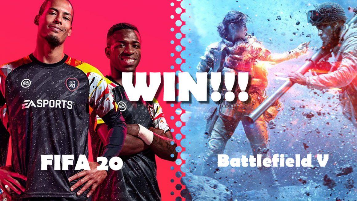 Prijsvraag: Win FIFA 20 en Battlefield V