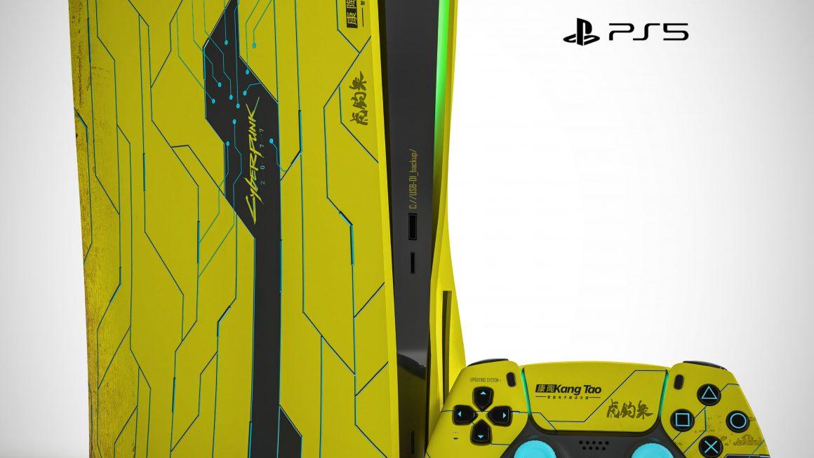 Ook Cyberpunk 2077 PS5-design duikt op