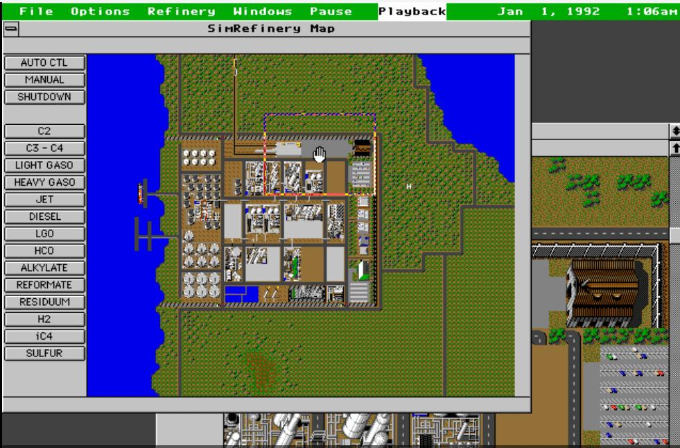 Klassieke sim-game SimRefinery uit de doeken gedaan