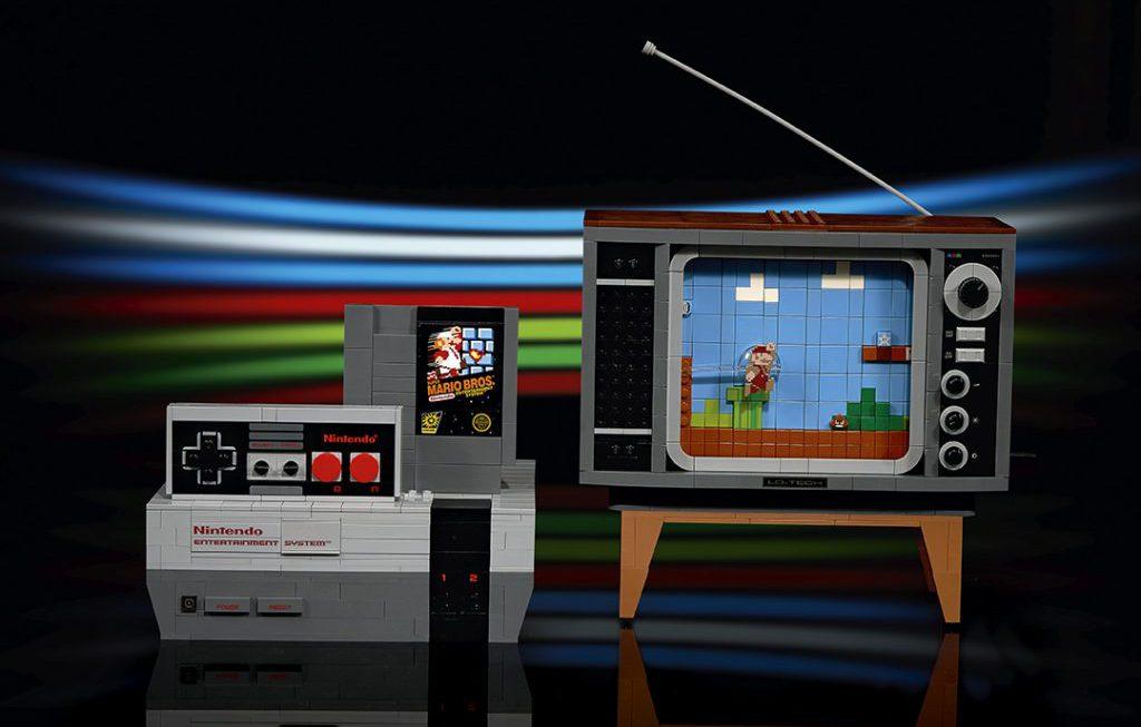 The LEGO Group introduceert LEGO editie van klassieke NES