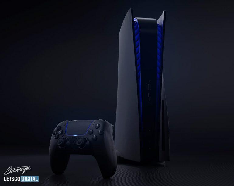 Dit zijn de mooiste renders van de PlayStation 5 Black Edition