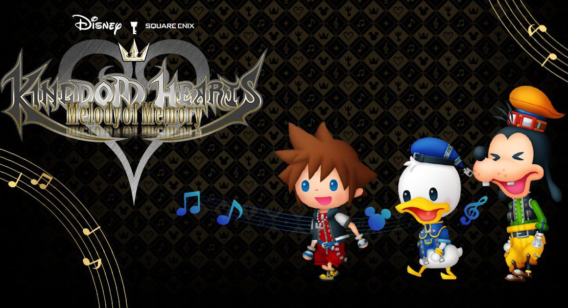 Kingdom Hearts Melody of Memory verkrijgbaar vanaf 13 november