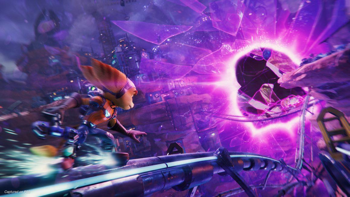 Gameplay-beelden voor Ratchet & Clank: Rift Apart