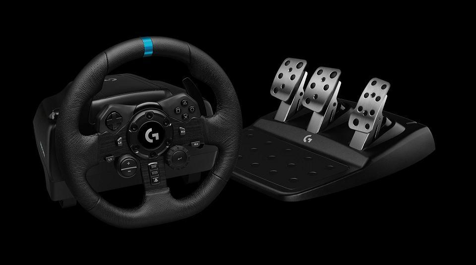 Logitech G zorgt voor ultrarealistische race-ervaring met G923 racestuur voor PS4, PS5 en PC
