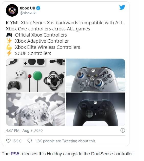 Microsoft haalt uit naar Sony's DualShock 4 incompatibiliteit voor PS5