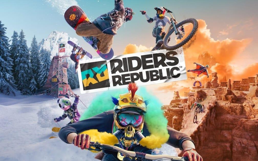 Leef je uit in de meest extreme sporten in Riders Republic