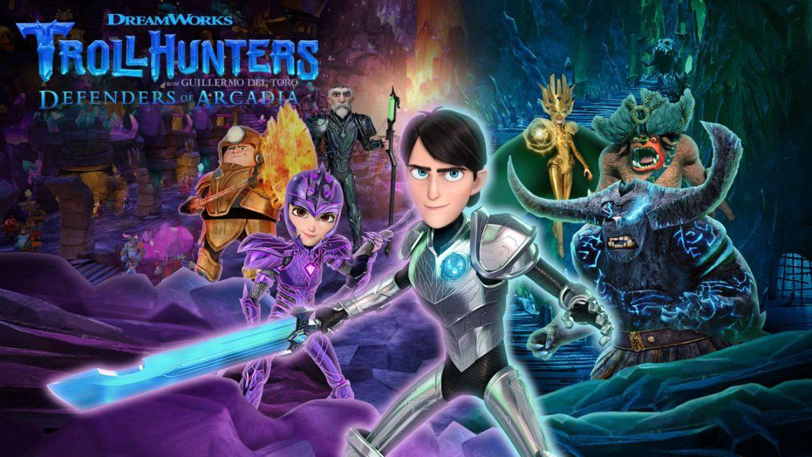 DreamWorks Trollhunters Defenders of Arcadia