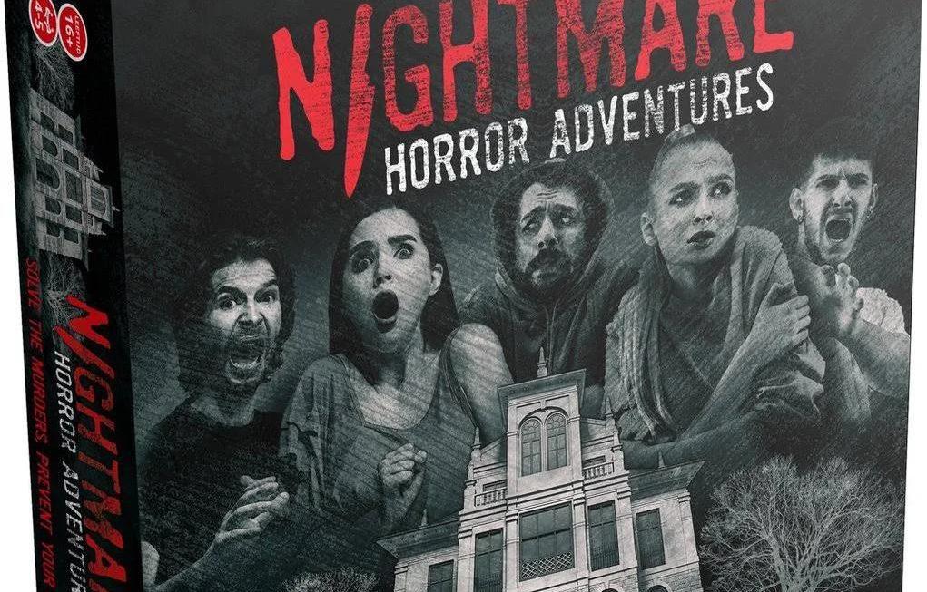 Horror bordspel Nightmare Horror Adventures uitgekomen
