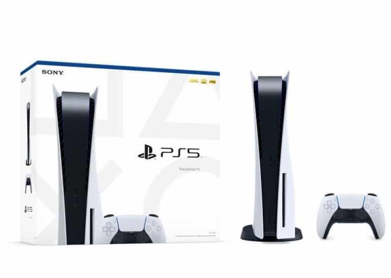 PlayStation 5 retail box op de foto gezet