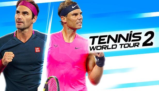 Speel als de grootste kampioenen in Tennis World Tour 2