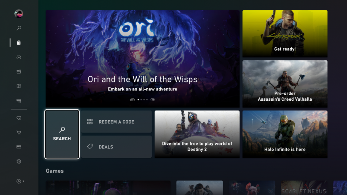 Microsoft lanceert nieuwe Xbox Store design