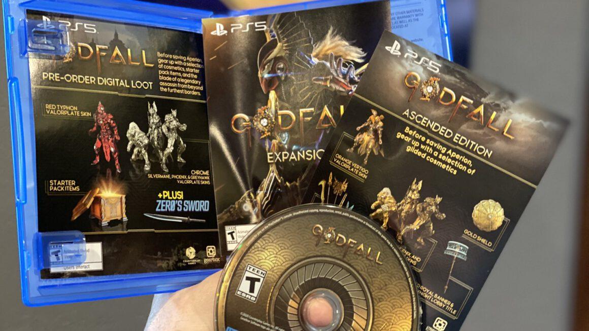 Ook verpakking en disc van PlayStation 5 game te bewonderen