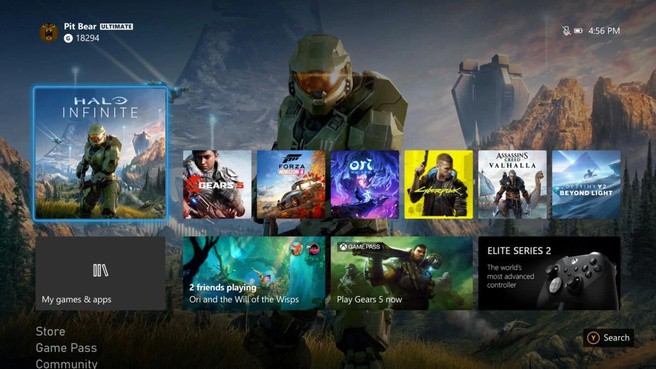 Microsoft lanceert nieuwe gebruikersinterface voor de Xbox