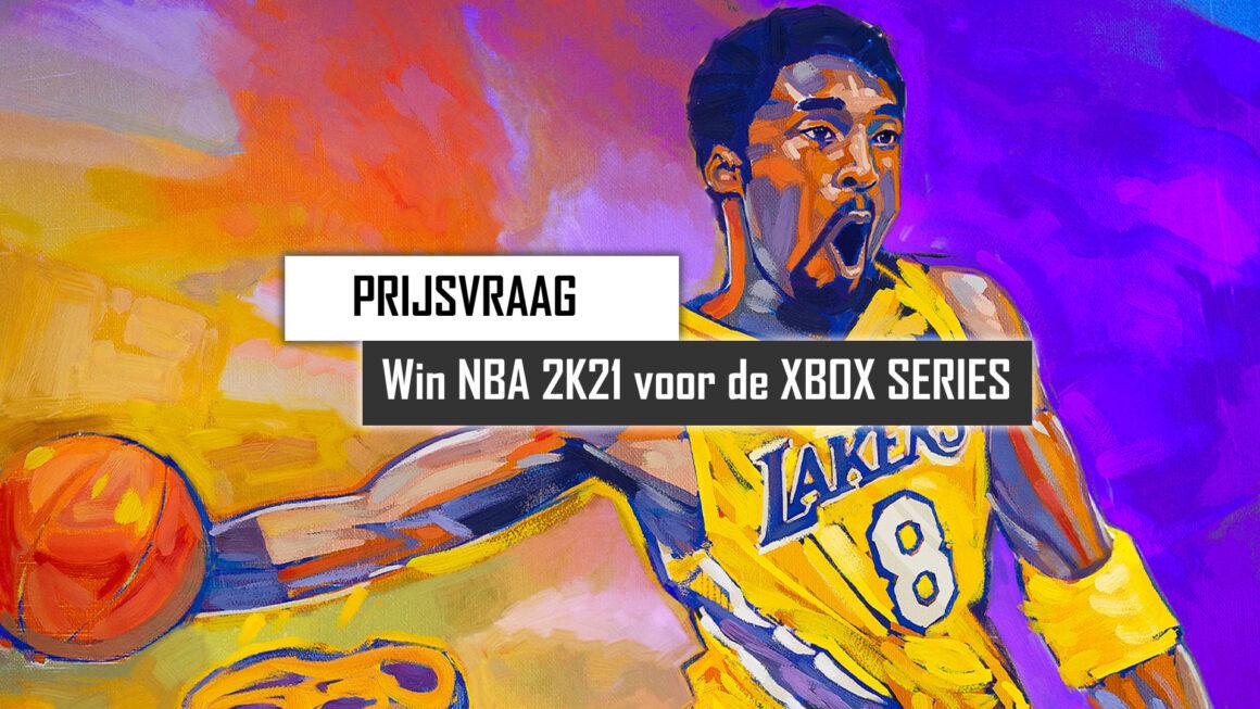 Prijsvraag: Win NBA 2K21 voor de Xbox Series