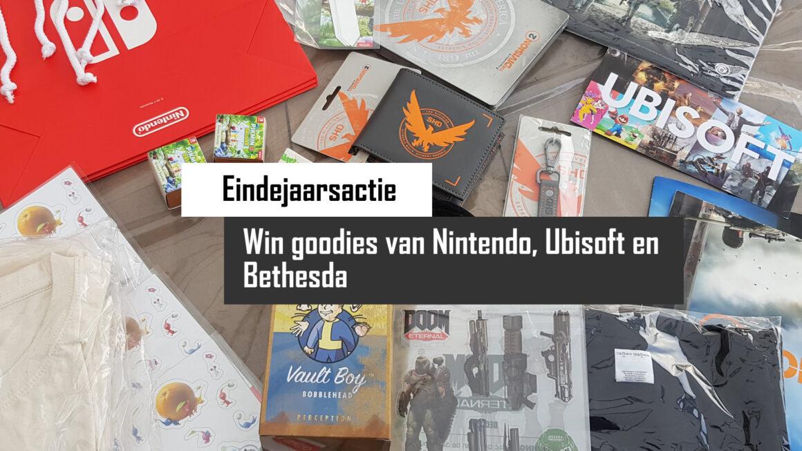 Eindejaarsactie: Win vette goodies van Ubisoft, Nintendo en Bethesda