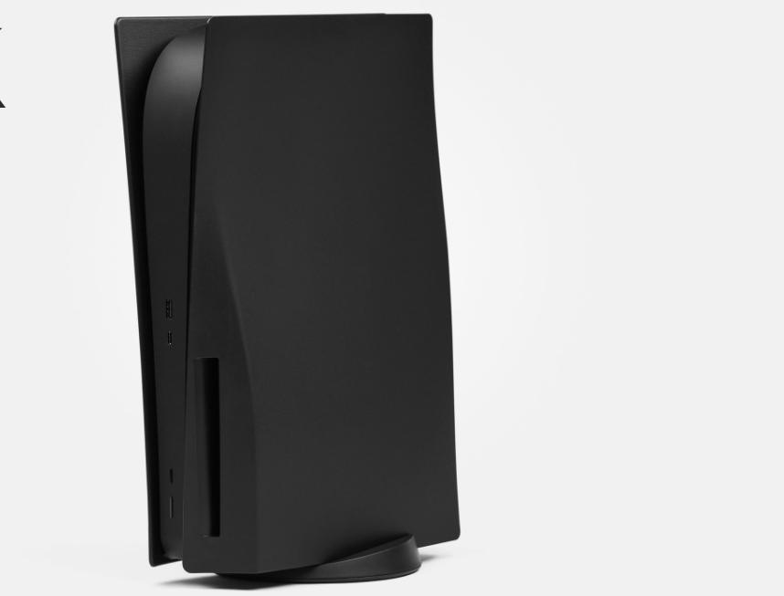 Zwarte PS5-faceplates binnen enkele uren uitverkocht
