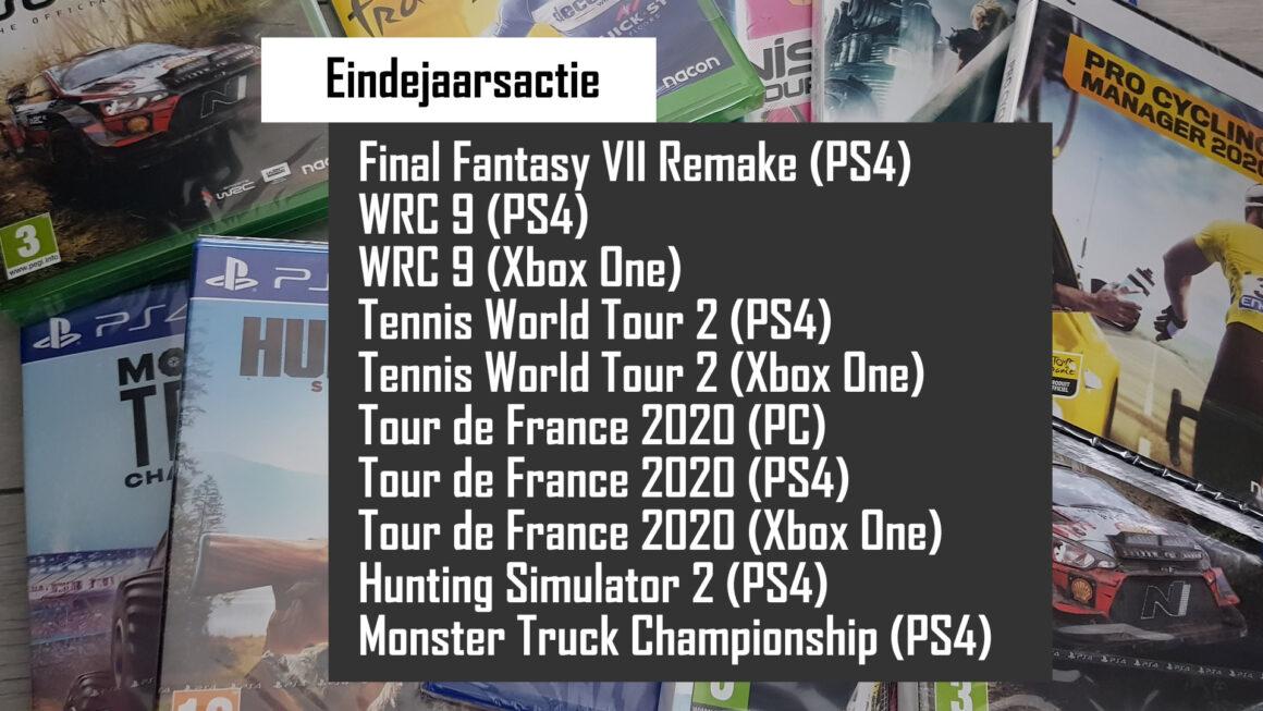 Eindejaarsactie: Win Final Fantasy VII en nog 9 games van BigBen en Square-Enix!