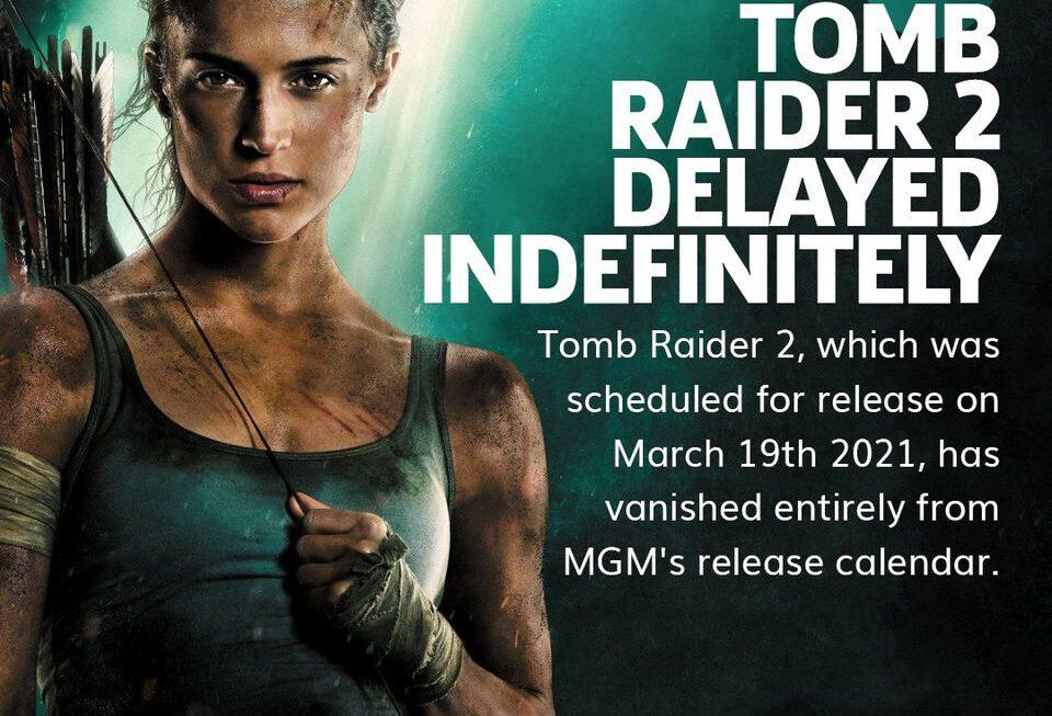 Vervolg Tomb Raider-film verdwijnt volledig van de radar