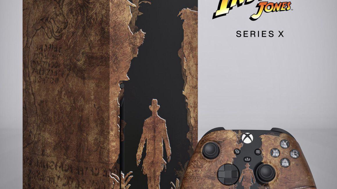 Xbox Series X met Indiana Jones-thema opgedoken