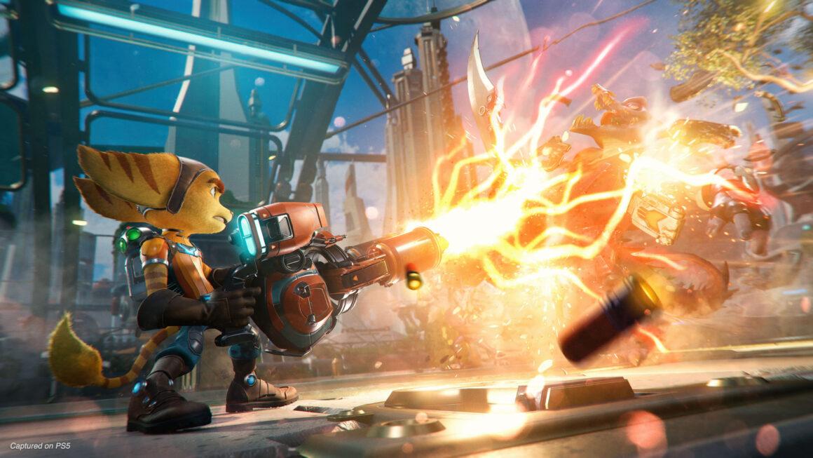 Kom in de sfeer met Ratchet & Clank Rift Apart-screenshot