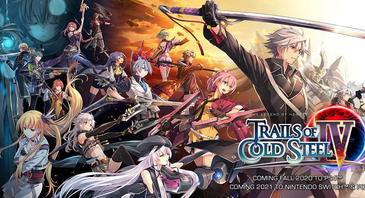 Trails Of Cold Steel IV komt in April op Nintendo Switch