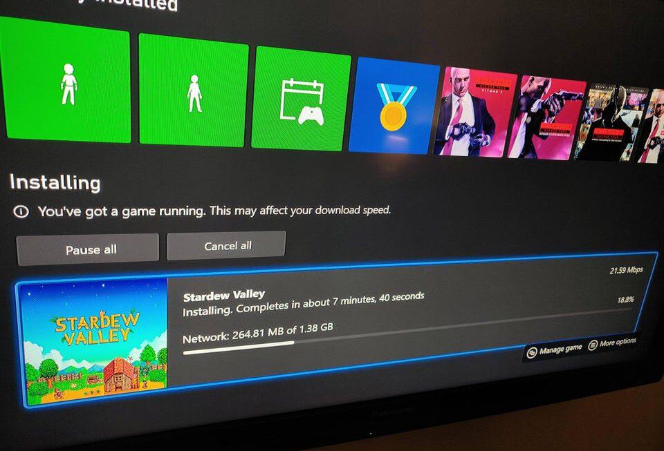 Je Xbox geeft nu aan als je downloads vertraagt worden