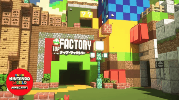 Bezoek Super Nintendo World binnenkort in Minecraft