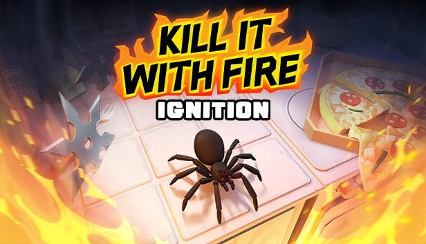 Vermoord spinnen met raketwerpers en molotov cocktails in Kill it with Fire