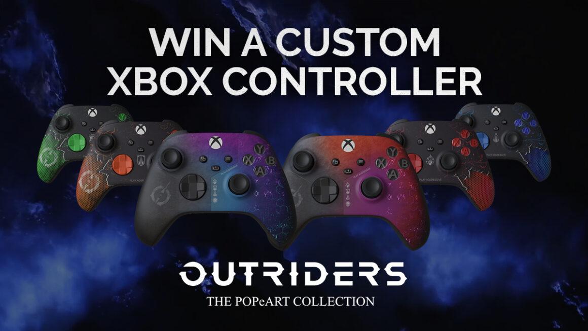 Zeer stijlvolle Xbox Series-controller in de stijl van Outriders gespot