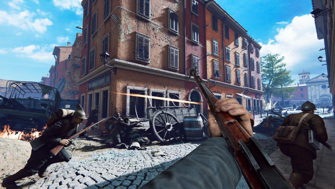 WW1-shooter Isonzo aangekondigd