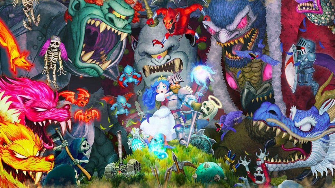 Ghosts 'n Goblins Resurrection komt naar PC, Xbox One en PS4