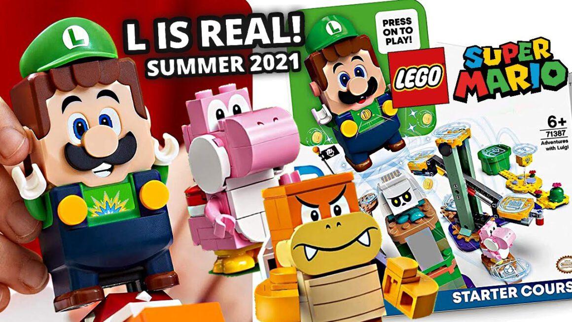 In de nieuwe 'Avonturen met Luigi' startset ontmoet Luigi zijn broer in het LEGO Super Mario universum