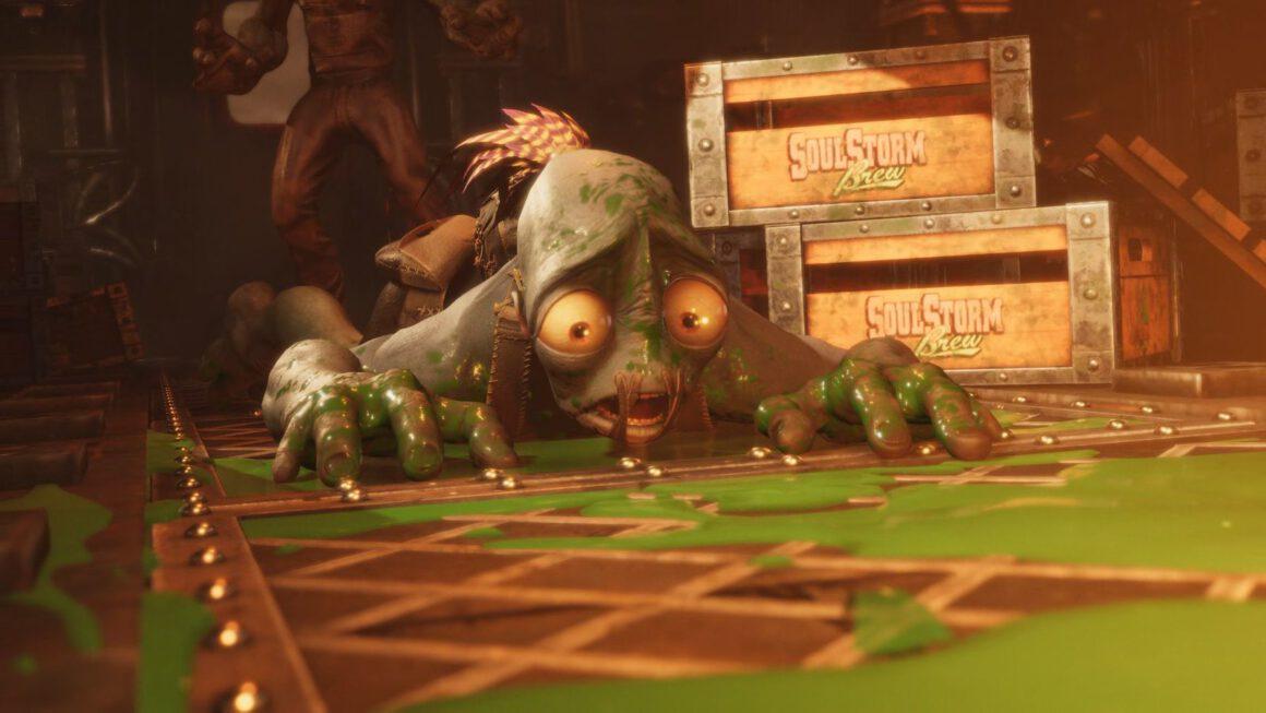 Performance-test Oddworld: Soulstorm op PS4 en PS5