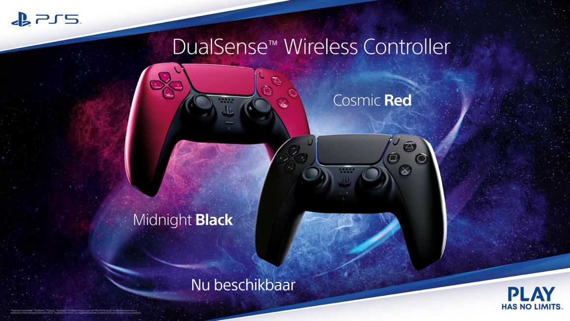 De PS5 DualSense draadloze controller is vanaf morgen beschikbaar in nieuwe kleuren