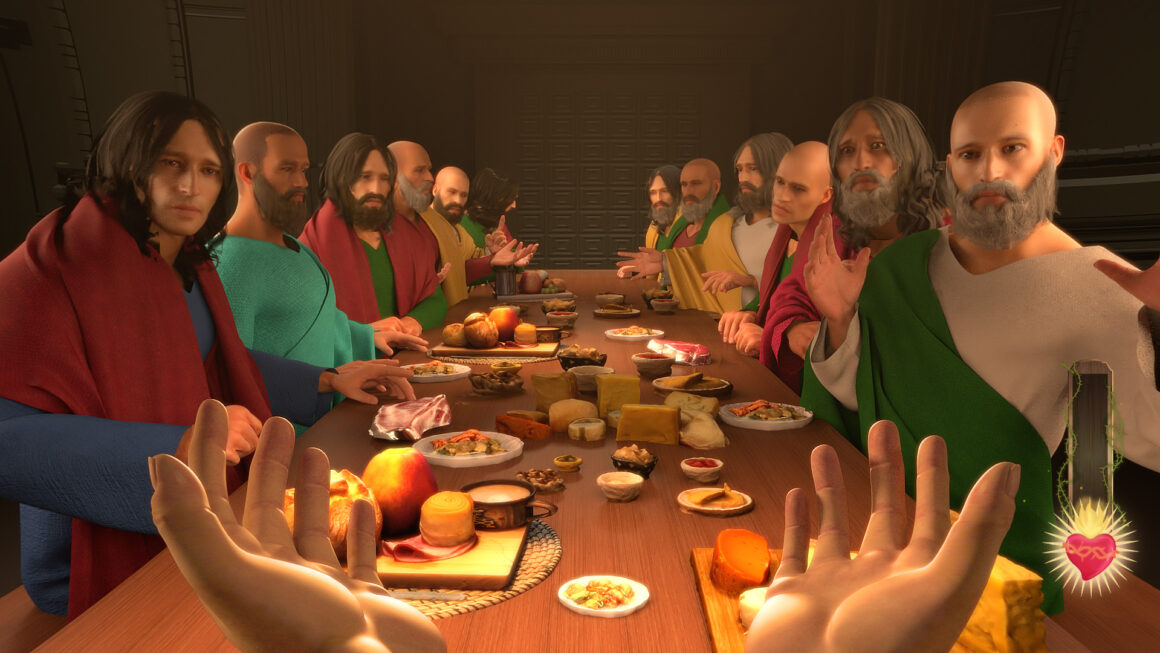 Unreal Engine 5-graphics in game waarin je als Jezus Christus speelt