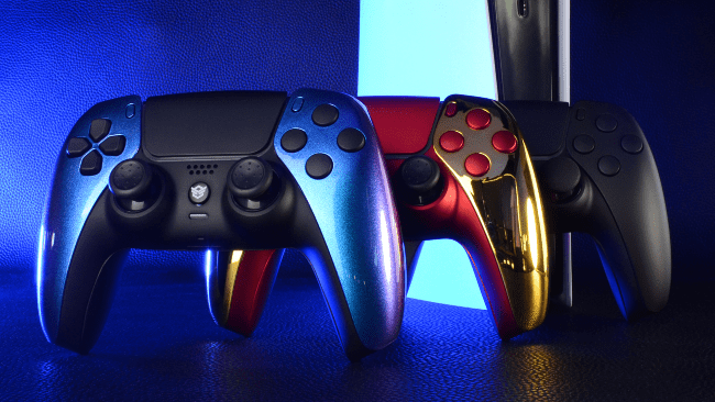 Custom DualSense 5-controller met back buttons nu verkrijgbaar
