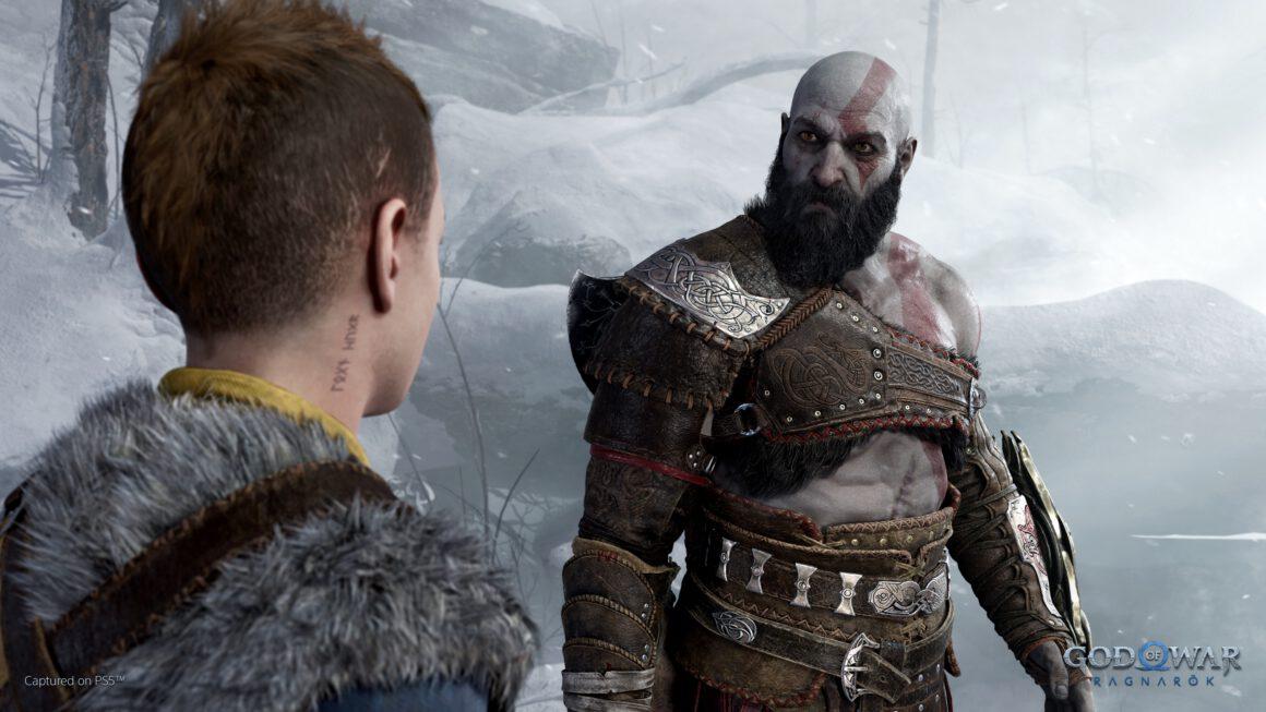 Blijf staren naar de screenshots van God of War: Ragnarok