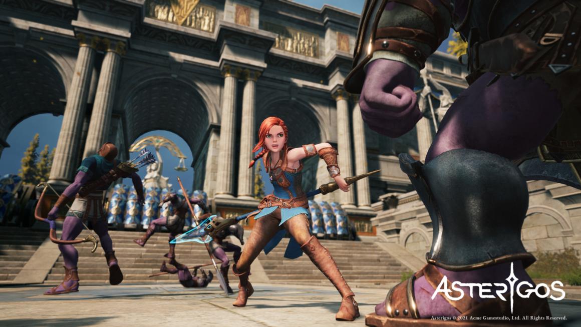 Actie-RPG Asterigos aangekondigd voor de PC, PS5 en PS4