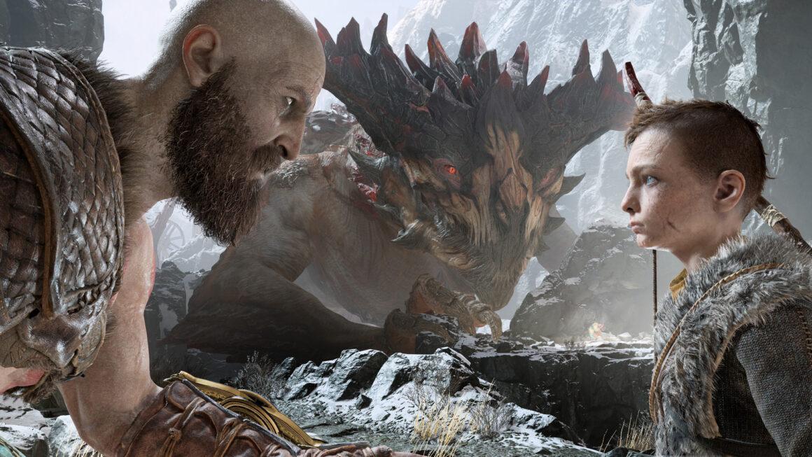 God of War toont zich dan eindelijk in video
