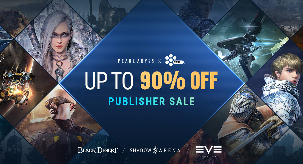 Pearl Abyss en CCP Games Houden Grote Steam Sale