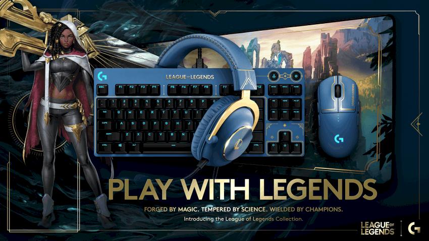 Logitech G en Riot Games introduceren officiële game-uitrusting van League of Legends